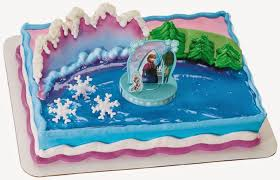 elenasprinciples frozen birthday cake topper