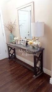 Rustic Sofa Table by Rustic Farmhouse Entryway Table By Modernrefinement On Etsy What