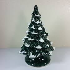 vintage ceramic christmas tree vintage ceramic christmas tree base 14 x 9 inches laughing