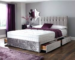 Gray Tufted Headboard Amusing Elegant Types Of Beds For Sleep Well Types Of Beds With