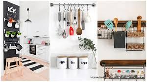 kitchen wall storage ideas redtinku