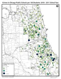 Chicago Maps by Maps Policing Chicago Public Schools
