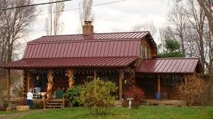 metal barn homes roof stunning burgundy metal roof drexel metals brilliance red