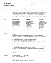 Resume Summary Statement Samples Resume Summary Statement Examples Customer Service Unforgettable