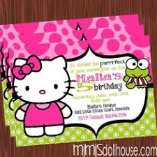 hello kitty birthday invitations printable free u2013 invitation