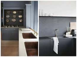 how to rock dark grey walls flat 15 design lifestyle sophisticated kitchen i always love a bright clean kitchen but check out these kitchens with darker grey tones such a classic yet chic alternative to
