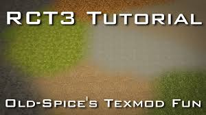 ground textures rct3 tutorial better ground textures using old spice u0027s texmod