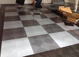 nj custom garage flooring install central jersey shore