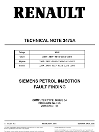 technical note 3475a relay fuel injection