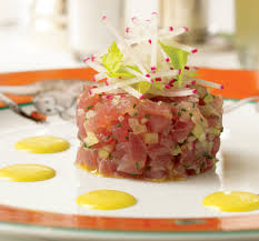 tartare cuisine curried tuna tartare recipe food republic