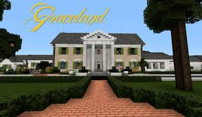 graceland minecraft graceland elvis presley u0027s home youtube