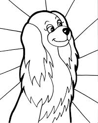 free printable coloring pages dogs cats wild dog ornate
