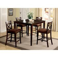 IoHomes Pcs Dallas Dining Table Set WoodEspresso  Target - Espresso dining room set