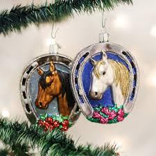 horseshoe christmas ornaments world christmas ornaments page 3 theholidaybarn