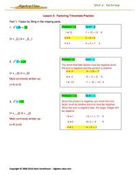 Algebra Worksheets And Answers Algebra Practice Worksheets