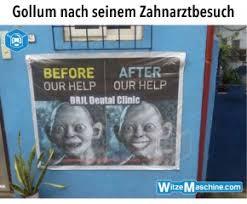 Gollum Memes - arztwitze zahnarzt witze gollum meme lustig wei罅e z网hne