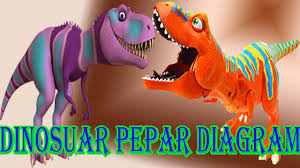dinosaur toys paper painting w watercolors for children baby