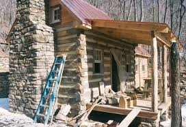 part two of building a rustic cabin handmade houses with