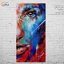 aliexpress com buy jyj mix color blue eye picture wall art home