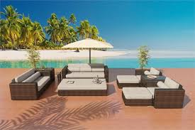 sofa daybed set outdoor patio furniture 1