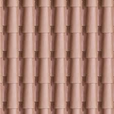 Terracotta Roof Tile Texture Seamless 03487