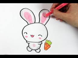 how to draw a cute bunny youtube