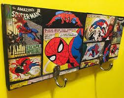 spiderman bedroom decor spiderman decor etsy