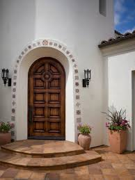 Black Front Door Ideas Pictures Remodel And Decor by Best 25 Spanish Front Door Ideas On Pinterest Mediterranean