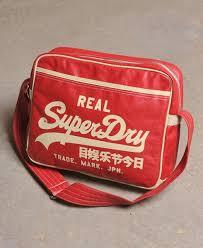 alumni bags mens alumni bag in rich superdry