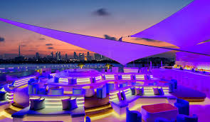 best roof top bars five of dubai s best rooftop bars what s on dubai