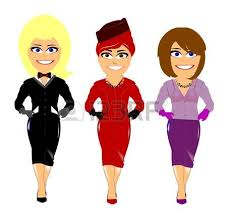group of women friends shopping royalty free cliparts vectors