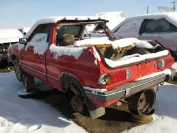 Junkyard Find 1986 Subaru Brat Sawzall Style The Truth About Cars