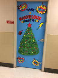 Christmas Tree Door Decoration Contest Candice Morton On Twitter