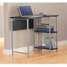 Mainstays 3 Shelf Bookcase Instructions Mainstays 2 Tier Writing Desk U0026 3 Shelf Bookcase Multiple
