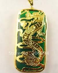 dragon jade necklace pendant images 2018 real jade jewelry christmas green jade dragon pendant jpg