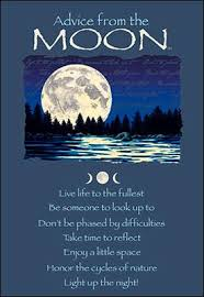 advice from the moon greeting card birthday u2013 your true nature inc