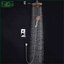 compare prices on concealed shower mixer set online shopping buy concealed shower set panel bathroom mixer faucet bath tap shower head with phone bluetooth listen music