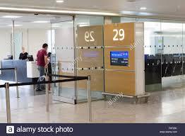 Heathrow Terminal 3 Information Desk Departure Gate Sign Terminal 5 Heathrow Airport London England