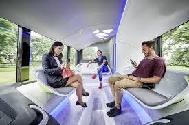 Comfort Design Hands Free Driver Sets Comfort Mood In Mercedes Benz Future Bus