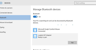 Microsoft Sculpt Comfort Mouse Not Connecting Fix Bluetooth Is Not Working In Windows 10 Connect Bluetooth And