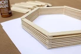 wandregal hexagon die wohngalerie wandregal in sechseck form zum selbermachen