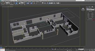 how to create a 3d architecture floor plan rendering extruded