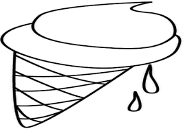 ice cream scoop scoop ice cream coloring coloring page image