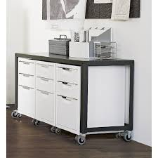 metal office desk with locking drawers shop go cart carbon rolling console table nifty metal office worker