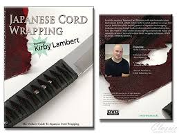japanese wrapping method japanese cord wrapping with kirby lambert knife making kits