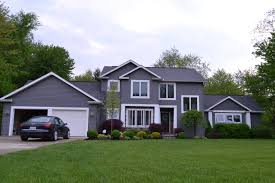 Grey House Colors Grey Houses With Black Trim Back To This Gray House It S A