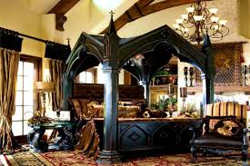 bedroom outstanding gothic style bed frame bedroom furniture