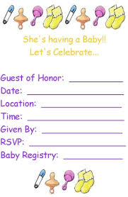 printable templates baby shower free printable baby shower invitation