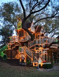Chic Backyard Tree House 44 Backyard Treehouse With Slide