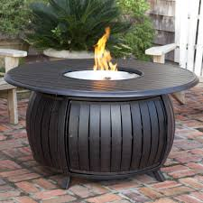 Firepit Patio Table by Fire Sense 61832 Extruded Aluminum Round Propane Fire Pit Patio